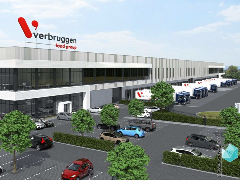 Verbruggen Food Group bouwt distributiecentrum